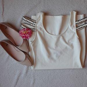 White Bodycon Dress 🌟